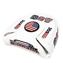 USA AMERICA MALLET  Putter Cover Headcover For Scotty Camero