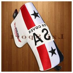 USA Magnetic Golf Putter Cover Headcover For Taylormade Odys