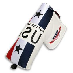 USA Magnetic Golf Putter Head cover For Odyssey Scotty Camer