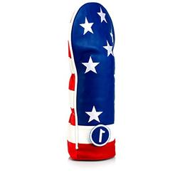 Pins & Aces Golf Co. USA Tribute Premium Driver Headcover -