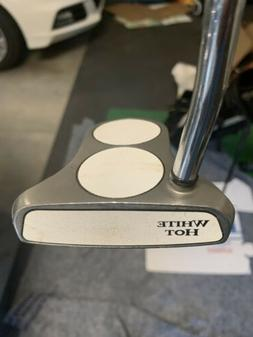 odyssey White Hot 2 ball putter left handed,with Head Cover