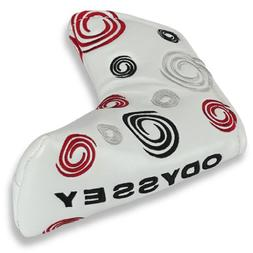 ODYSSEY White Swirl Blade Putter Cover
