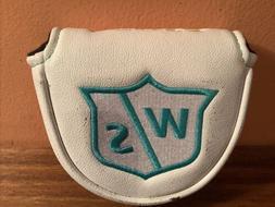 Women's Wilson Staff White Infinite MALLET Putter Cover-Used